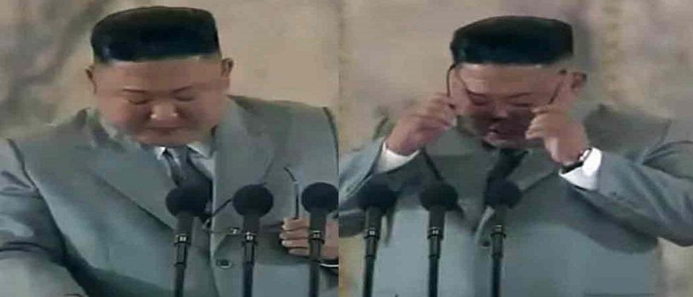 north korea president kim jong cried during his speech north korea president kim jong cried during his speech