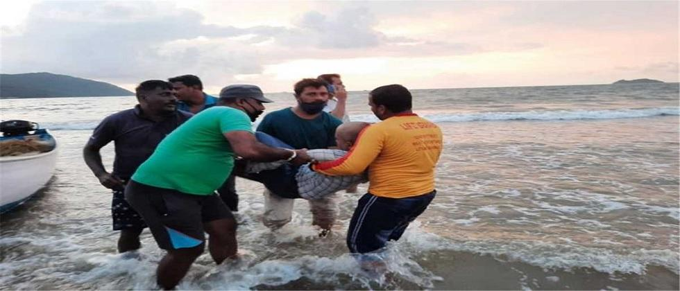 naval captain died on the very first day of adventure tourism in goa