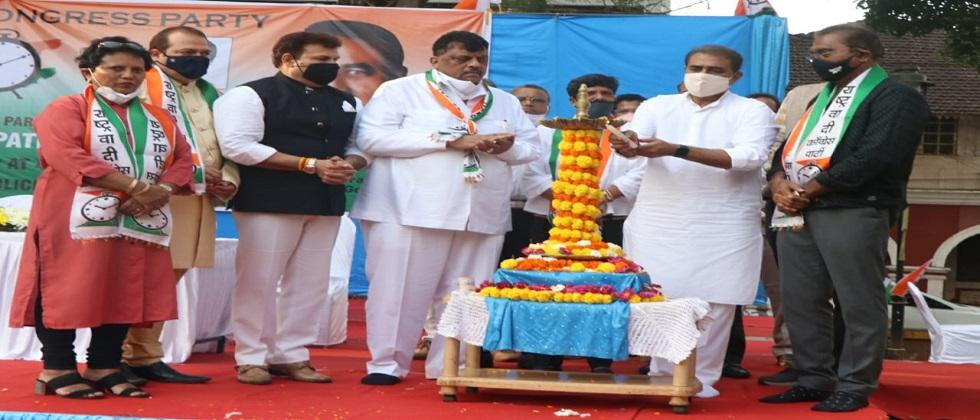 Former minister Praful Patel came to inaugurate the NCP office in Goa