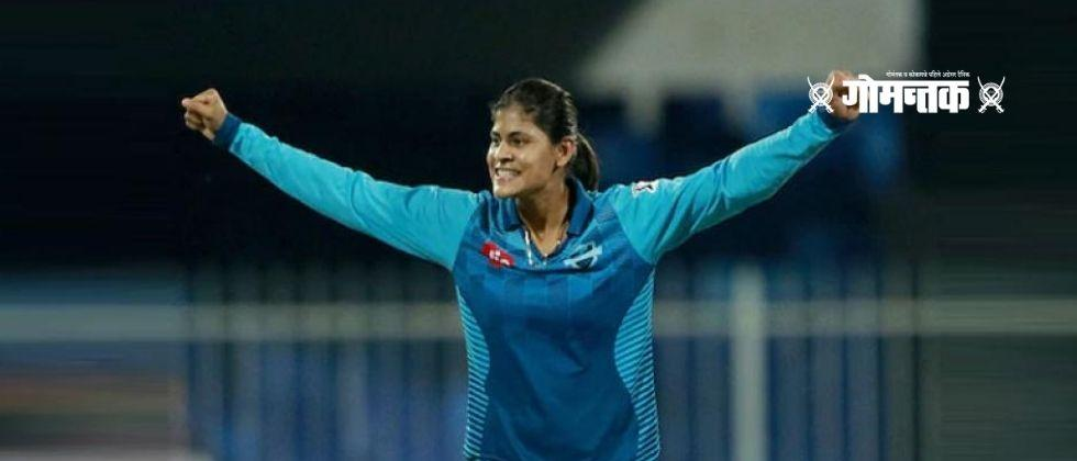 20 year old Radhas brilliant performance in T20 cricket