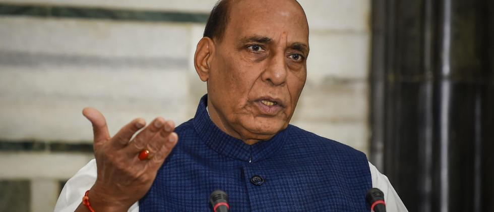 Defense Minister Rajnath Singh reviewed the situation on the Ladakh border
