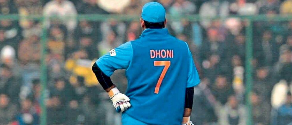 Also retire the number seven jersey says Dinesh Karthik