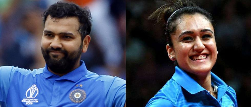 Rohit Sharma and four others recommended for Khel Ratna award