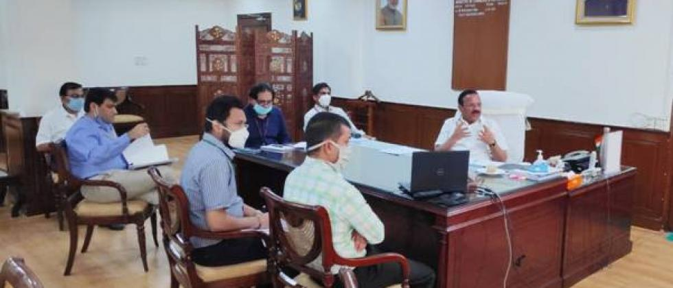 Gowda interacted with stakeholders related to the fertilizer sector