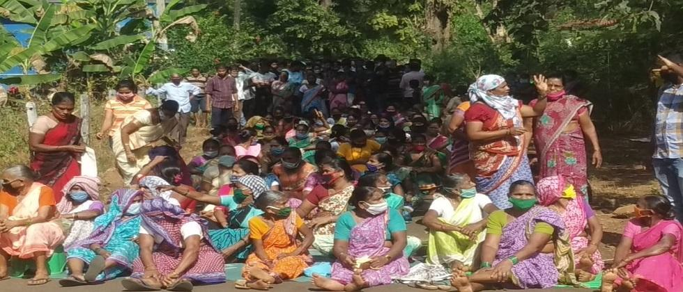 villagers continue oppose IIT project in Melavali