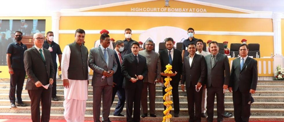 Inauguration of the High Court building by Chief Justice of the Supreme Court Sharad Arvind Bobade