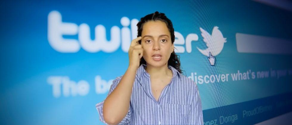 Kangana Ranaut's reaction after her Twitter account was suspended