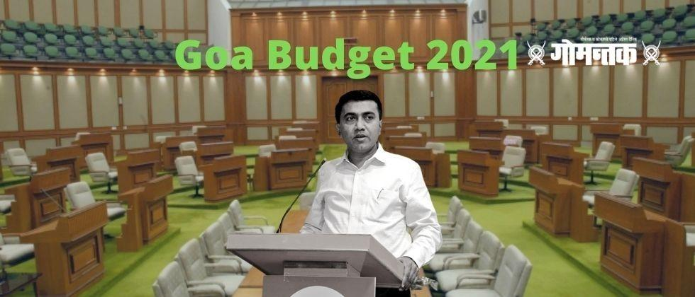 Goa Budget 2021 The Goa government will present the budget on March 24