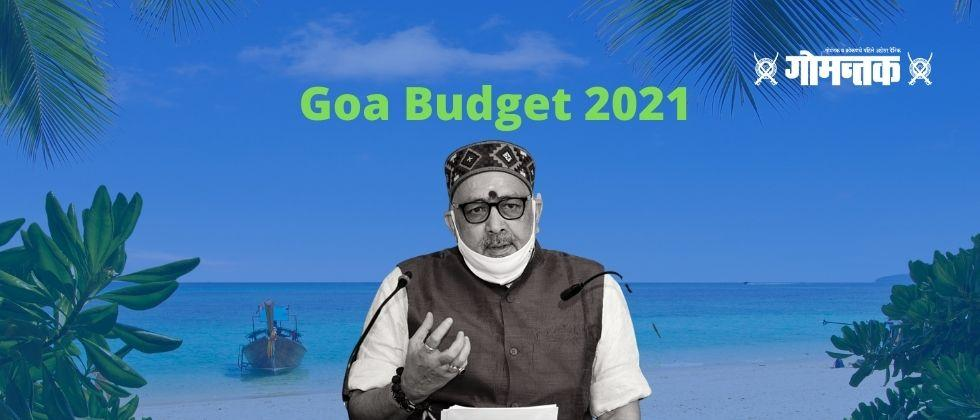 Goa Budget 2021 Agriculture and the Sea will be important key in rebuilding Goa economy