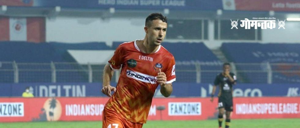 FC Goa fielded all the Indian players in the defense against East Bengal