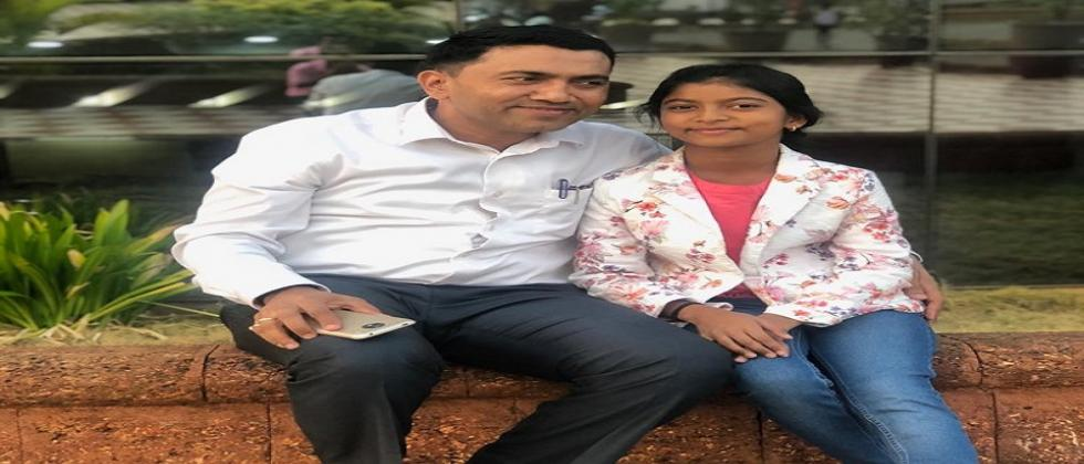 Chief Minister met 'daughter after ten days