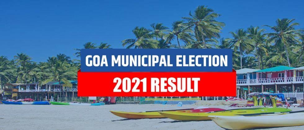 Goa muncipal election result