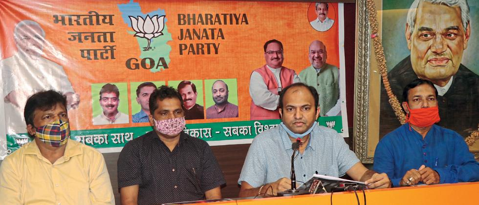 No BJP minister in that rave party says Dattaprasad Naik