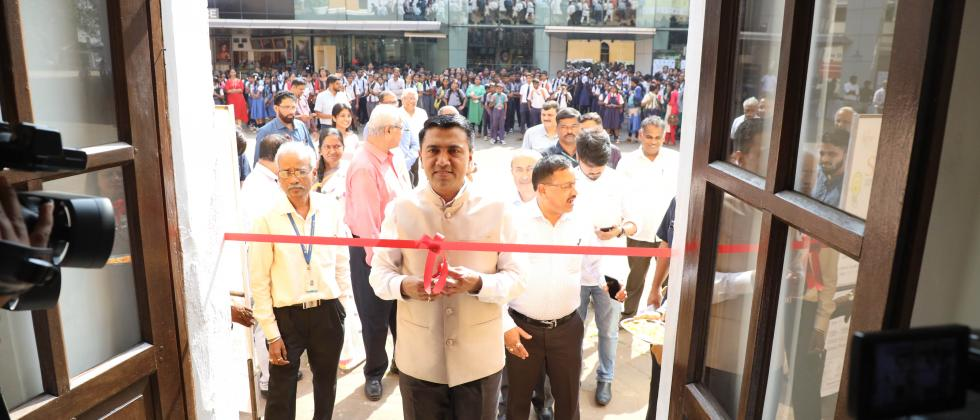 Inaugural of Science Exhbition at the hands of Hon. Chief Minister of Goa,  Dr. Pramod Sawant