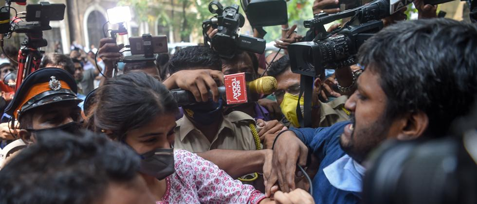 legal practitioner lashes out at media for mobbing Rhea Chakraborty