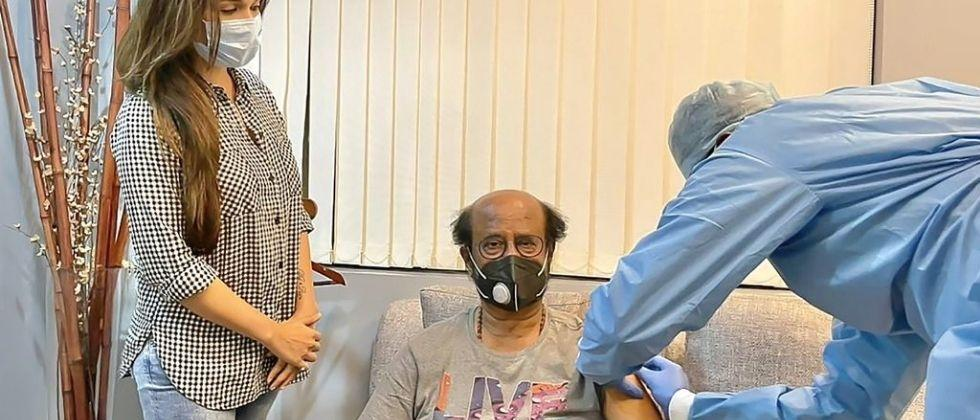 Fans are benefiting from Rajinikanth's vaccination