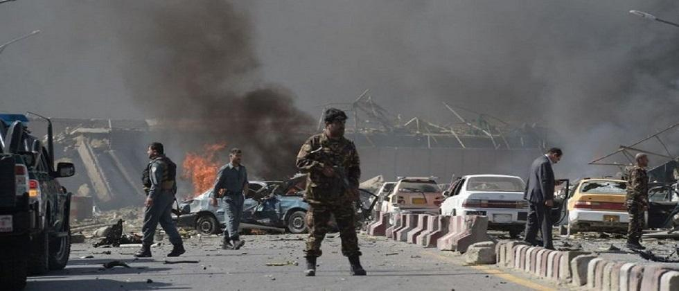 24 died in bomb blast at kabul in afganistan