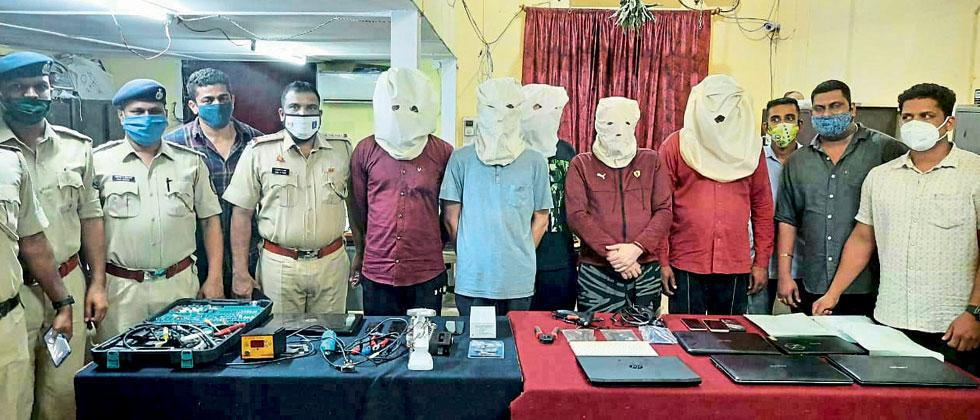 3 held for ATM skimming thefts in Goa