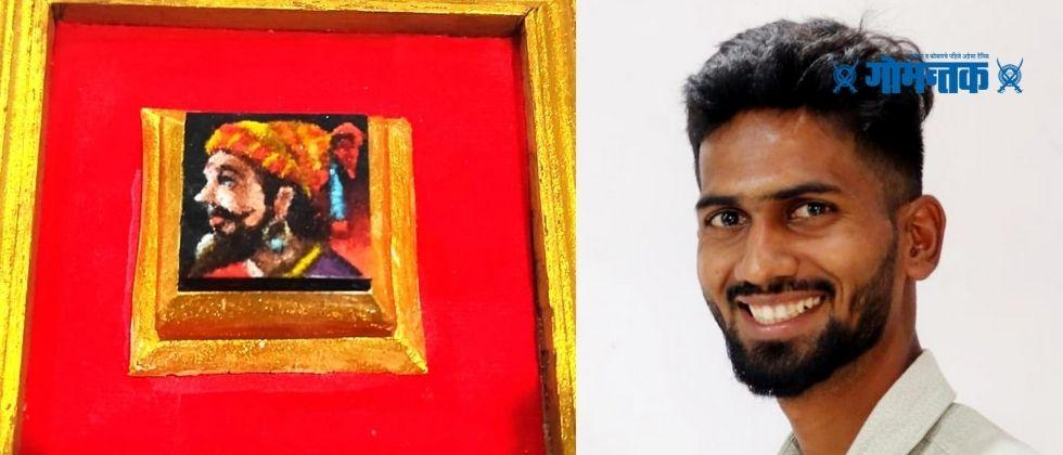 Rangoli artist from Ratnagiri achieves unique world records by drawing smallest rangoli