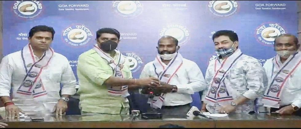 Goa forward party candidates social worker Jitendra Gaonkar for Pernem constituency