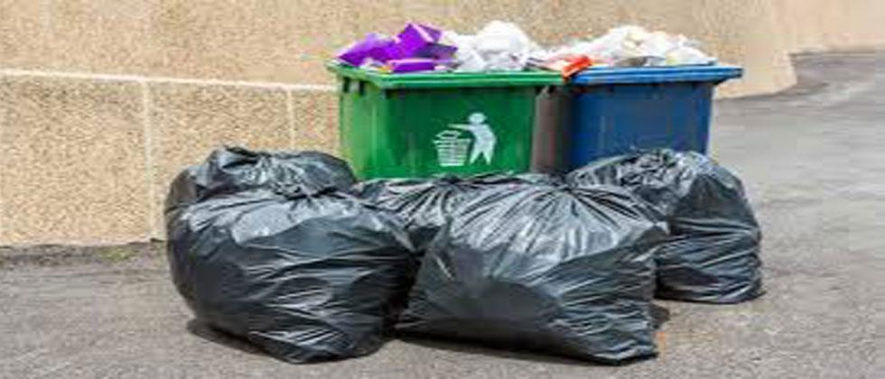 The need to pick up household waste in the capital