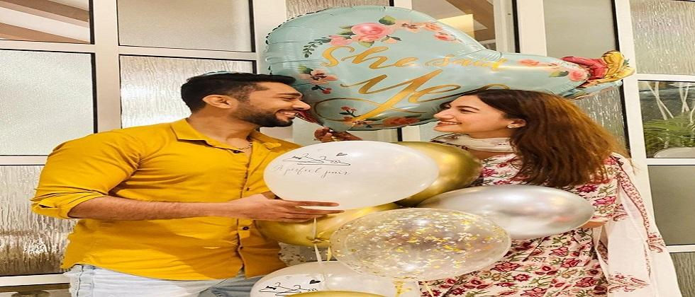 Actress and Big Boss participant Gauhar Khan reveals her digital wedding card with Zaid Darbar