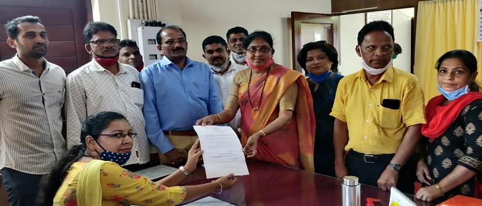 Application for the post of President in South Goa