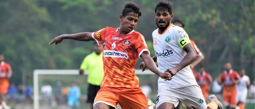 Goa Professional League Sporting losses due to penalty shootout