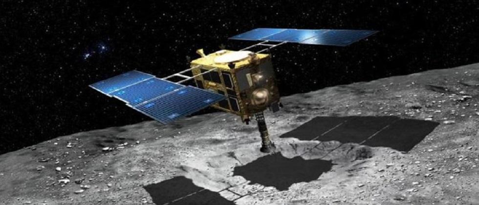 Hayabusa 2 spacecraft collects soil samples from asteroids which were  220000 km away from the earth