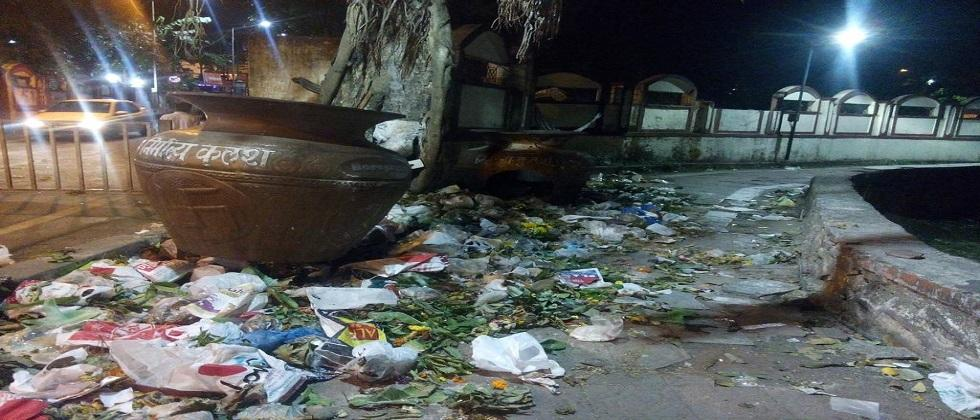 Nirmalya Kalash will turn into a garbage can if we keep it in market