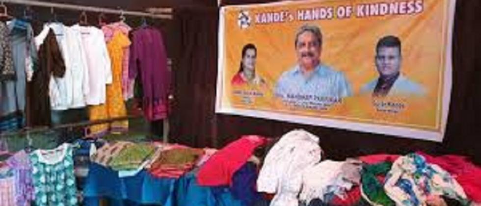 kande Hands of Kindness store in the Marutiaray Jatrotsav