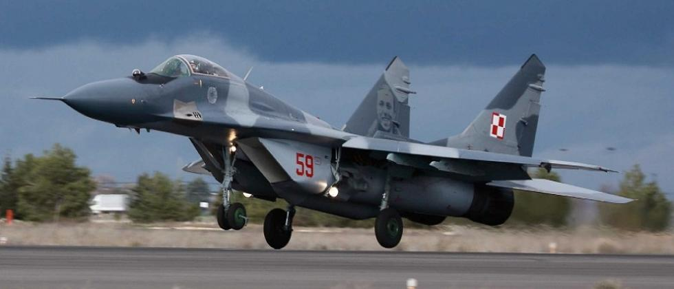 MiG 29 aircraft crashes off goa coast piolet ejects safely