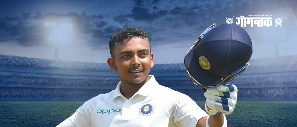 Prithvi Shaw could not stop himself from crying during Australia tour