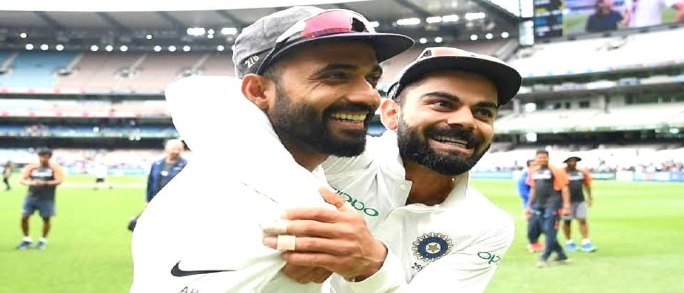 Australia Vs India Virat was run out due to my fault in the first Test, but he showed his sportsmanship said Ajinkya Rahane