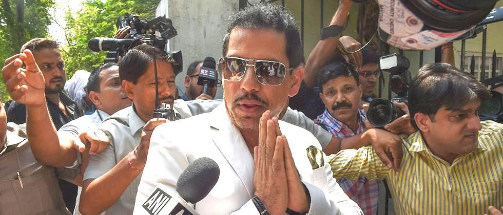 Income tax department questioned Son in Law of Congress Chief Soniya Gandhi Robert Vadra for uncounted property