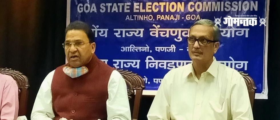 Goa municipal elections to be held on March 20 The Code of Conduct applies from today