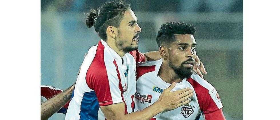 Roy Krishna and David Williams play together for ATK in ISL league