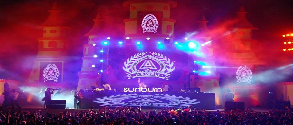 The sunburn festival depends on the Corona situation in the state
