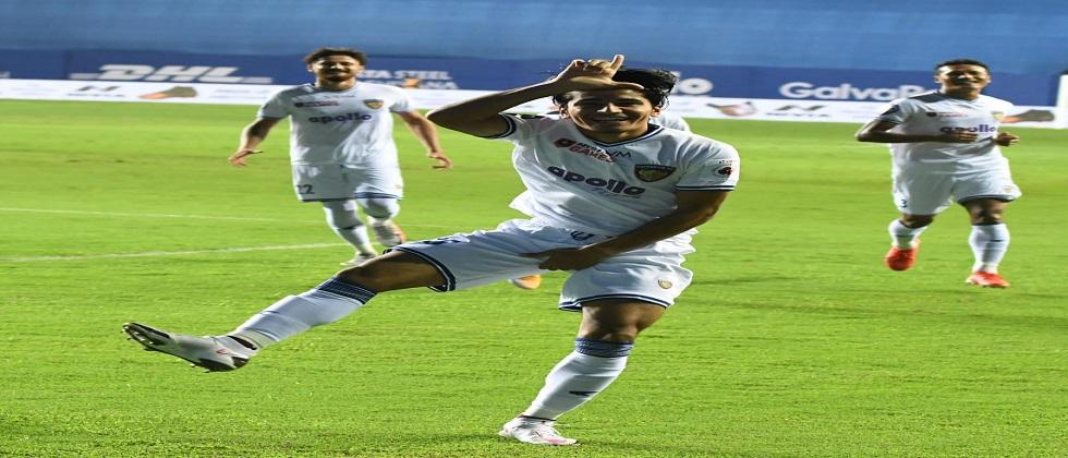 Aniruddha became the first Indian footballer to score in the seventh ISM