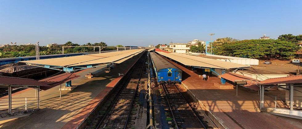Who will benefit from the doubling of Goa railway line MLA Almeida