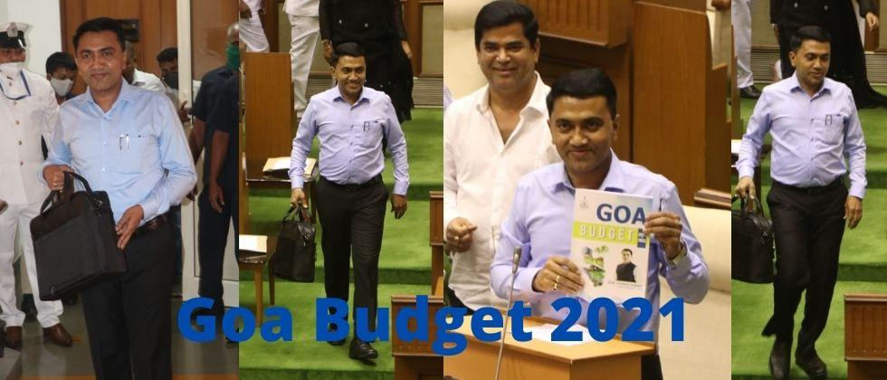 Goa Budget 2021 Chief Minister Pramod Sawant has come up with a number of new schemes to carry forward the resolution of Self sufficient Goa
