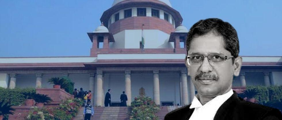 N V Ramana today appointed as the Chief Justice of India