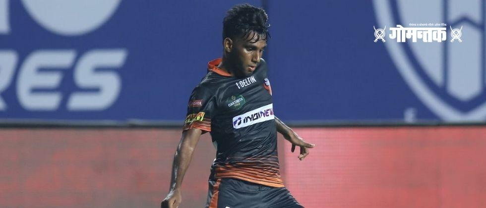 ISL2020-21 Penalty goal with the help of Northeast