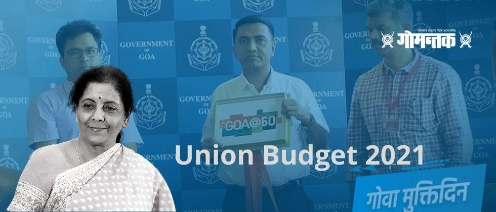 Union Budget 2021 Rs 300 crore to Goa for Liberation anniversary