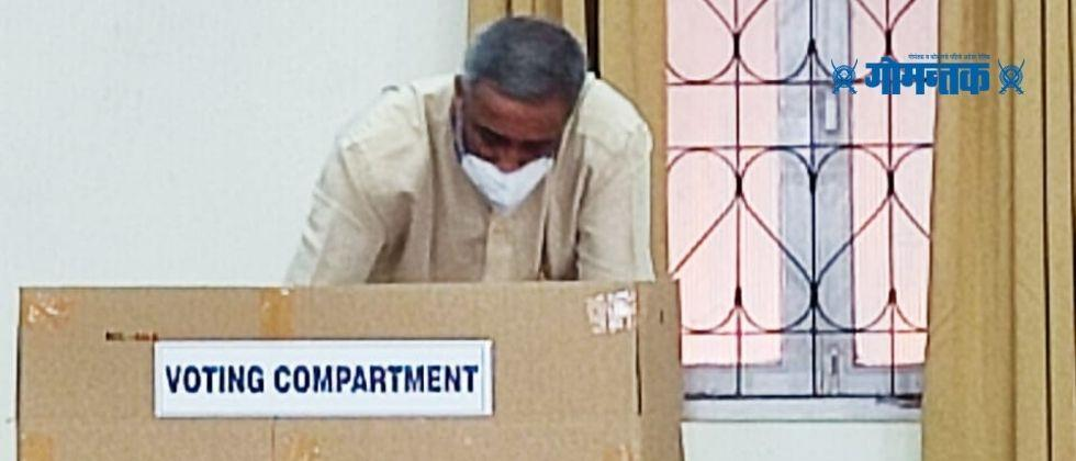 Voting begins today in Panaji to elect the Central Committee of the Maharashtrawadi Gomantak Party