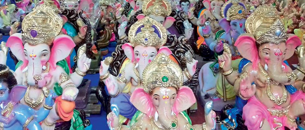 Peoples first choice for eco-friendly Ganesh idols