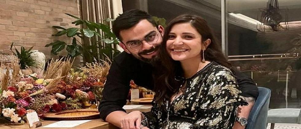 first picture of Virat Kohli and Anushka Sharmas daughter was shared social media by the Vikas Kohli