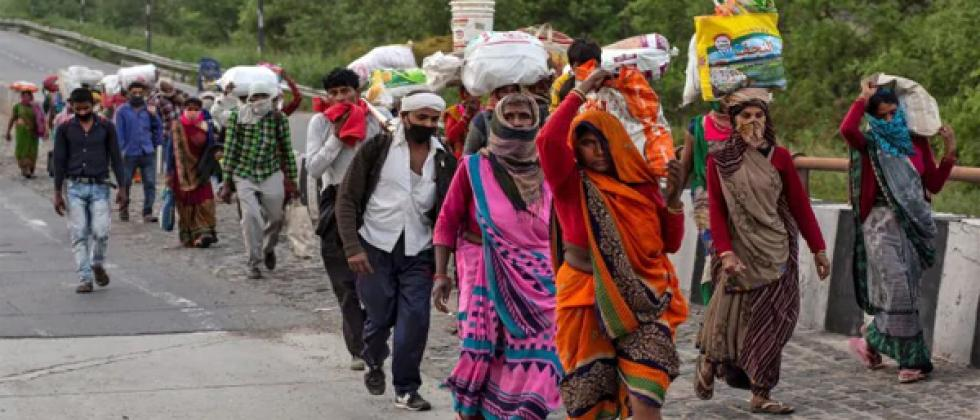 migrants wants to go to their village