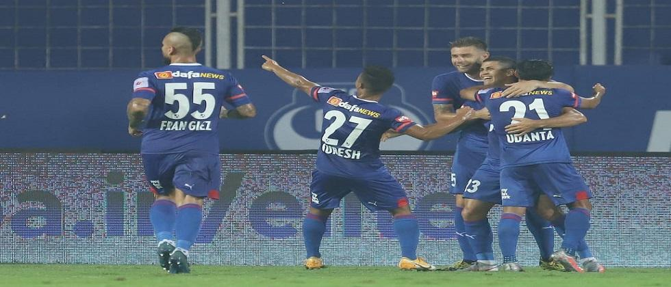 FC Goa stopped Bangalore and tied the ISL match match with 2-2 goals each