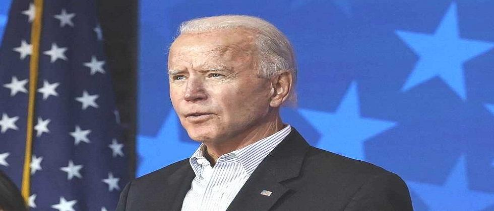 We want our nation to be united says newly elected president Joe Biden